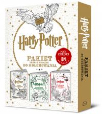 Harry Potter Pakiet Trzech Książek Do Kolorowania